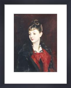 Portrait Of Madamoiselle Suzanne Poirson by John Singer Sargent