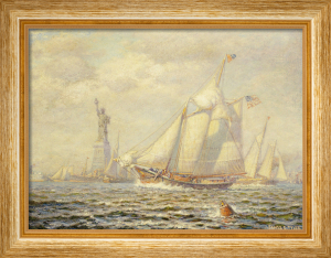 New York Harbor by James Gale Tyler