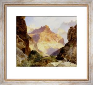 Under The Red Wall, Grand Canyon Of Arizona by Thomas Moran