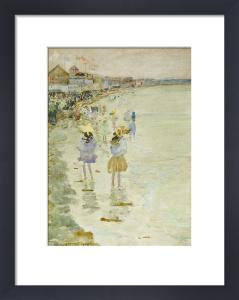 Crescent Beach, 1896. by Maurice Prendergast