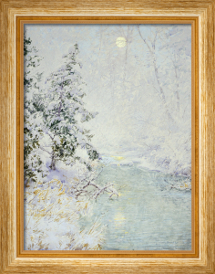 Winter Sun by Walter Launt Palmer