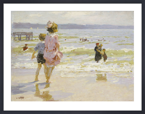 At The Seashore by Edward Henry Potthast