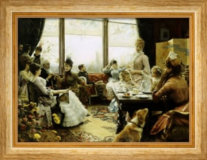 Five O'clock Tea, 1883 by Julius Leblanc Stewart