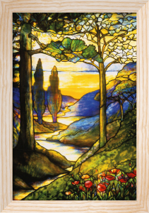 Window Scene by Tiffany Studios