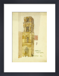 Palermo, Campanile Martorana by Charles Rennie Mackintosh
