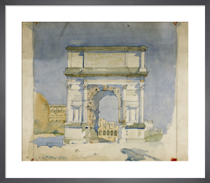 Rome - Arch of Titus by Charles Rennie Mackintosh