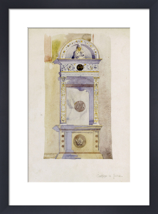 Certosa di Pavia - Study of a Jesuit Altar, 1891 by Charles Rennie Mackintosh