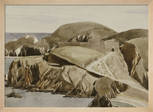 The Road through the Rocks, c.1926 by Charles Rennie Mackintosh