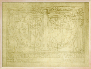 Diploma of Honour designed for the Glasgow School of Art Club, 1894 by Charles Rennie Mackintosh