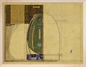 Design for W.J Bassett-Lowke Esq., 1916 by Charles Rennie Mackintosh