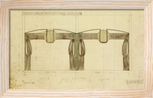 Design for an Exhibition Stand for Francis Smith by Charles Rennie Mackintosh