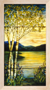 Landscape Lake Window by Tiffany Studios