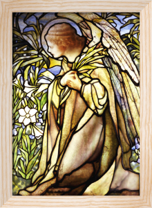 Angel Window by Tiffany Studios