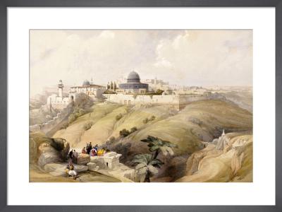 View of Jerusalem by David Roberts