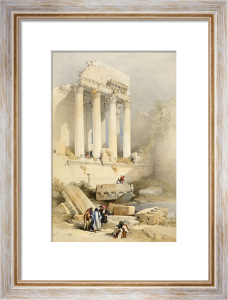 The Western Portico, Baalbec by David Roberts