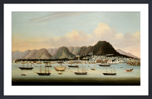 A View of Victoria, Hong Kong, c.1862 by Anonymous