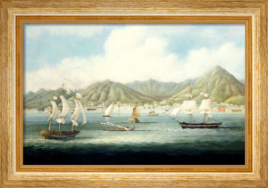 A View Of Victoria, Hong Kong With British Ships And Other Vessels, Circa 1850 by Christie's Images