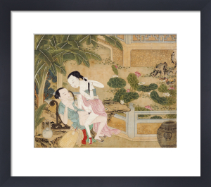 An Amorous Couple Engaged In Lovemaking by Christie's Images