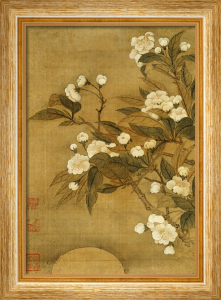 Pear Blossom And Moon by Yun Shou Ping