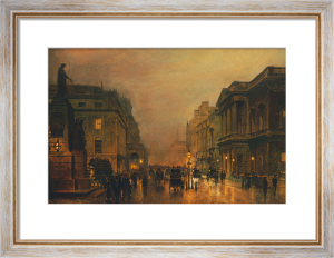 Pall Mall by John Atkinson Grimshaw