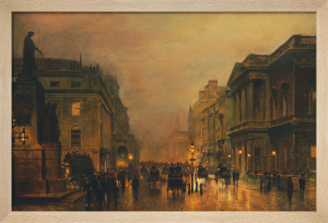 Pall Mall by John Atkinson Grimshaw