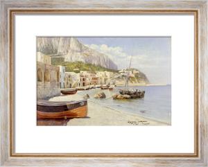 Marina Grande, Capri by Holgar Hvitfeld Jerichau