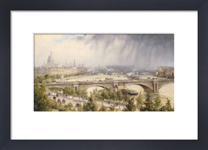 St Paul's From Waterloo Bridge by Auguste Ballin