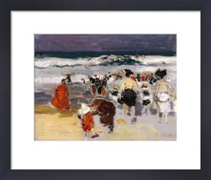 Playa De Biarritz, 1906 by Joaquin Sorolla y Bastida