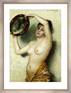 The Dancer, 1873 by Georges de Dramard
