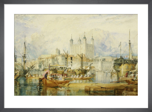 The Tower Of London, c.1825 by Joseph Mallord William Turner