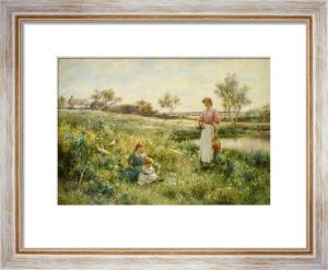 Summer Flowers, 1903 by Alfred Augustus Glendening