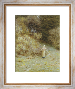 In The Primrose Wood by Helen Allingham