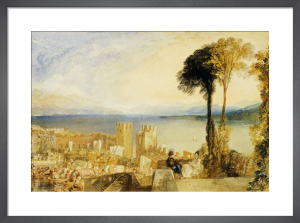 Arona Lago Maggiore by Joseph Mallord William Turner