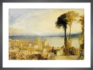 Arona Lago Maggiore by Joseph Mallord William Turner