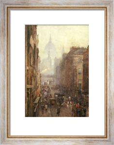 Fleet Street, 1892 by Rose Maynard Barton