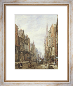 Watergate Street, Chester by Louise Rayner