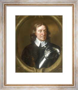Portrait of Oliver Cromwell by Sir Peter Lely