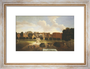 A View Of Old Horse Guards Parade From St. James's Park, With Tiltyard Stairs by Thomas Van Wyck