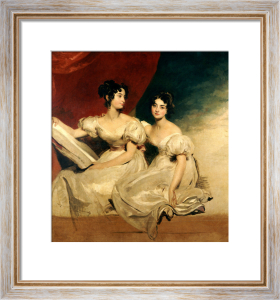 A Double Portrait Of The Fullerton Sisters, Seated Full-Length by Sir Thomas Lawrence