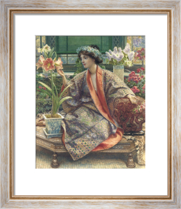 A Hot-House Flower by Sir Edward John Poynter