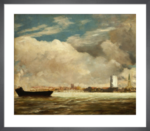 On the Thames near Battersea Bridge, c.1816 by John Constable