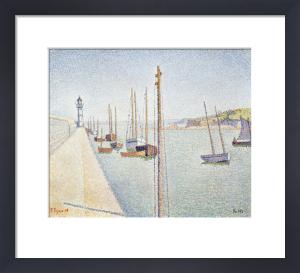 Portrieux. Les Mats. Opus 182, 1888 by Paul Signac