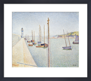 Portrieux - Les Mats, 1888 by Paul Signac