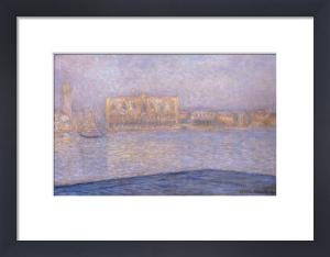 Le Palais Ducal Vu De Saint-Georges Majeur, 1908 by Claude Monet