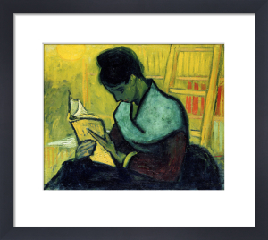 A Novel Reader, 1888 by Vincent Van Gogh