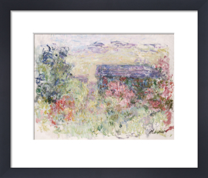 The House Through The Roses, Circa 1925 by Claude Monet