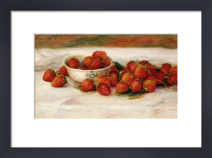 Strawberries. Fraises by Pierre Auguste Renoir