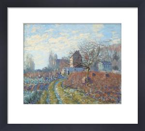 Gelee Blanche - Ete De La Saint-Martin, 1874 by Alfred Sisley
