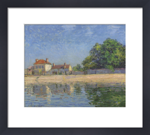 Bords Du Loing, Saint-Mammes, 1885 by Alfred Sisley