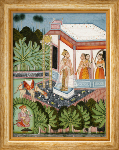 The Elopement Of Dhola And Maru. Bundi C. 1750 by Christie's Images
